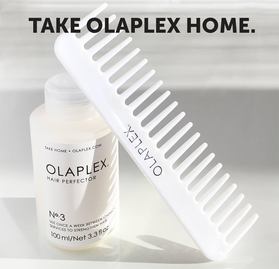 Olaplex kotihoitotuotteet parturi-kampaamo Salon Hot Hairista